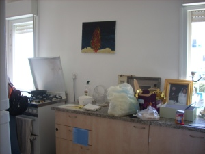 Kitchen before renovation